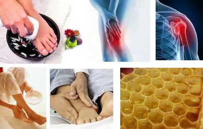 Соль с медом на суставы